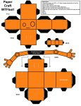 WTFbot Paper Craft v1.2 by dandeentremont