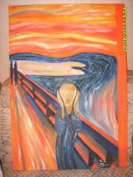 Munch Scream Copy by NothinToSay