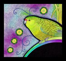Western Ground Parrot as Totem by Ravenari