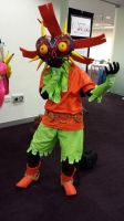 Skull kid possessed by Majora by Roses-and-Feathers