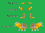 Renamon sprites by urimas