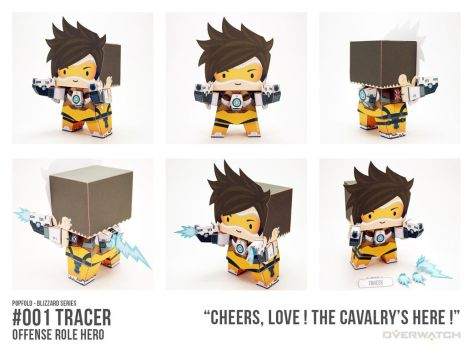 POPFOLD (BLIZZARD) - #001 TRACER by CubieCal