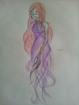 Ancient Beast: Abolished-Sketch: Female (2) by 01-silver-glass