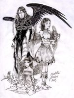 3_ages_of_Eliandra_finished by Betta-Fly
