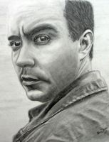 Dave Matthews Portrait by kms76