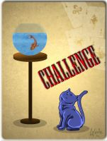 Challenge cat by Melouche