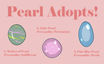 Pearl Egg Adopts (CLOSED) by jovvian