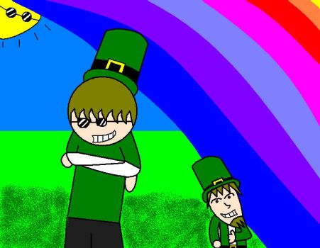 St. Patrick and Patrick jr. by LUV2SPEUGE