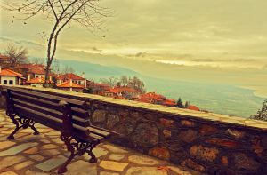 bench view by OrestisCharalambous