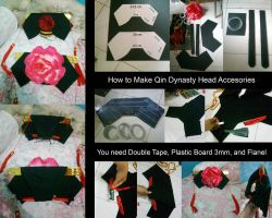 How to make qing dynasty head accessories by seawaterwitch