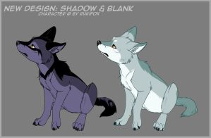 Shadow and Blank 2010 by RukiFox