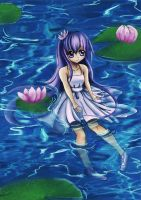 water lily by cutieyuka