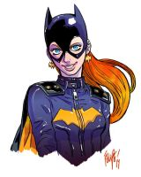 Batgirl: Barbara Gordon by FelipeSmith
