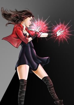 Scarlet Witch by FruitsPunchSamurai14