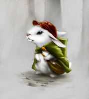 Bunny Messenger by heliconius