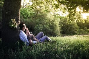 Couple: Sleepy afternoon by Ambra-Lioness