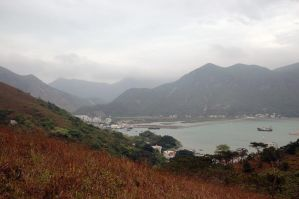 Lantau Country Side overlooking the Ocean by Malakhite