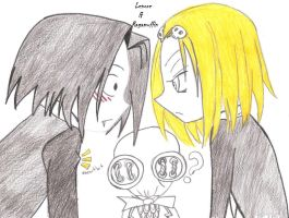 Lenore and Ragamuffin by SKR-cha