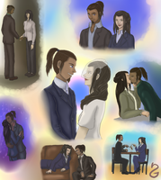 31 Days of OTP AUs - Day 30: The Mentalist by Seyary