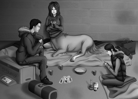 Just Playing Cards by Archristol