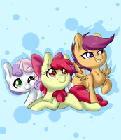 Cutie Mark Crusaders by ThePinkShark