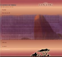 Lion King journal skin by Juffs