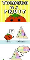 Tomato is a Fruit - Children's Book by chat-noir