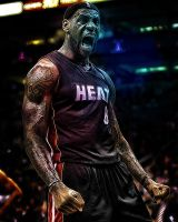 LeBron James The Beast by MississippiBullet