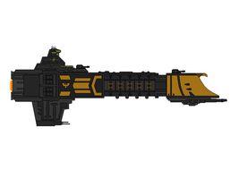 Warhammer 40K Flagship of governor Garus by Seeras