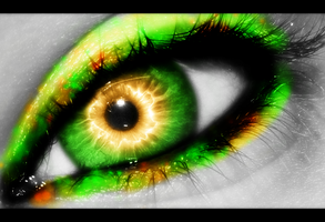 orange and green by lacey69marie