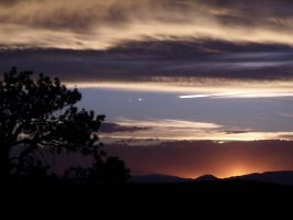 Henry mountains sunset by Urmar