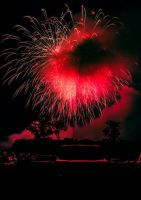 State College Fireworks by Nathan-Ruby