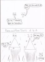 Kaven and Rose Shorts - 4 by DazzyDrawingN2