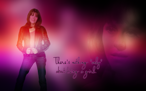 Sarah Jane Smith widescreen wallpaper by Leda74