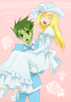 Request: Beast Boy and Terra by CATGIRL0926