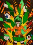Vocaloid - GUMI by Hinageshi-Aki