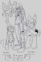 My Pokemon Team by zombiecatfire13