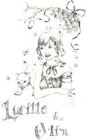 Lucille and Olim by Jujubel