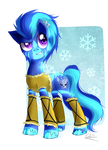 Trade: Frosty Grin by Rebecka-chan