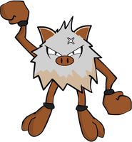 Primeape by DaRkAjAx