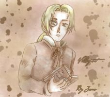 Young Villefort by Sori-Chan