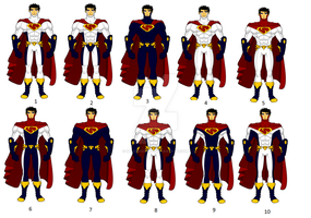 Superman Redesigns by SplendorEnt
