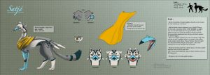 Satje - Reference Sheet - by Nanasschevelu