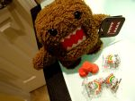 Domo and candy by Psaenz