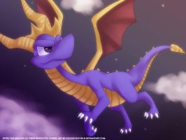 Spyro the Dragon by ashmish