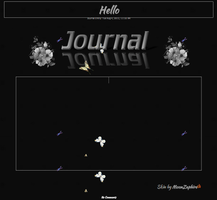 Butterfly Journal skin Animated by MoonZaphire