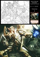 WoW TCG - Araelun by UdonCrew