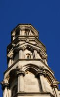 Spires and Blue Skys by RMEdwards