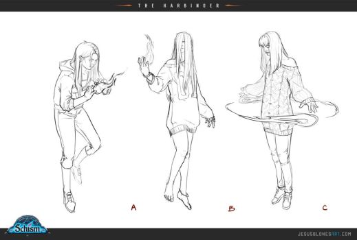 The harbinger sketches - Schism by ChuchuaN