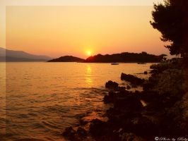 Orange waters by Rely